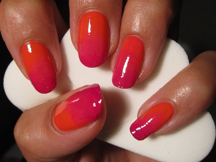 www.BeautyLab.nl - Nederlandse Beauty Fashion Lifestyle Blog Site: Gradient Nails - voor korte nagels