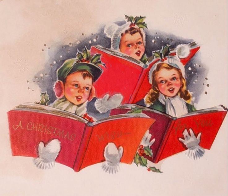 Vintage 1987 Buyers Choice Carolers Boy Girl Christmas: 17+ Best Images About Christmas Greeting Cards On