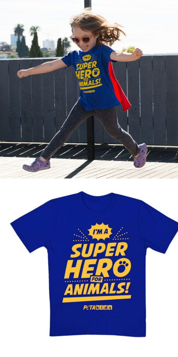 Kids Superhero T Shirt Superhero Shirts Vegan Lifestyle