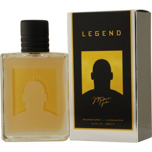 Michael Jordan Legend By Michael Jordan For Men. Cologne Spray 3.4 Oz / 100 Ml by Michael Jordan. $21.68. Packaging for this product may vary from that shown in the image above. 100% Authentic MICHAEL JORDAN LEGEND by Michael Jordan Cologne for Men (COLOGNE SPRAY 3.4 OZ). Manufactured by the design house of Michael Jordan. Product Details -- Concentration: Cologne; Size: 3.4 OZ; Form: Spray; Designer: Michael Jordan; Brand: MICHAEL JORDAN LEGEND; Gender: MEN; Pro...