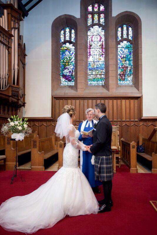 St Stephens church wedding  Stockbridge Edinburgh  Jenna & Michael