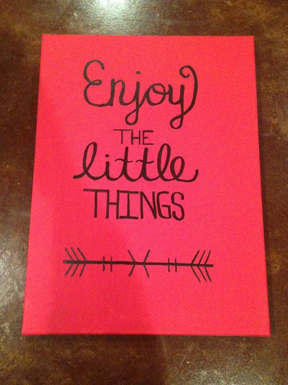 Cute Canvas With Quote