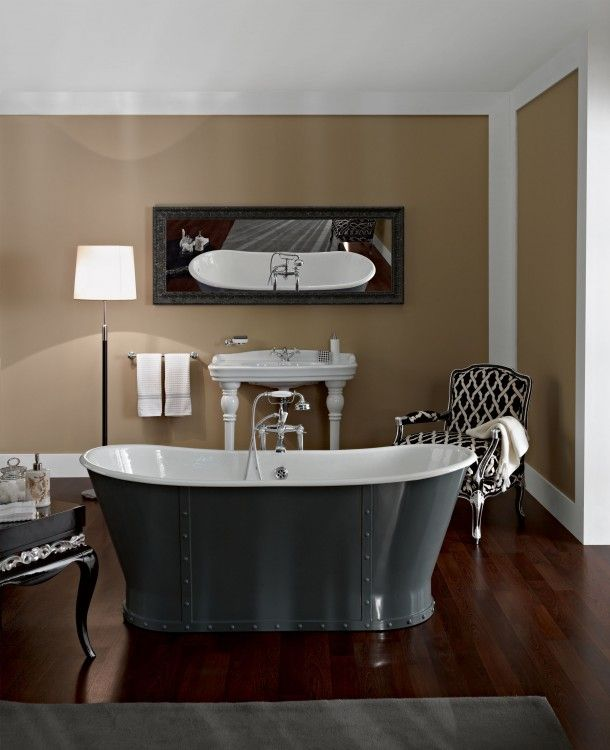 Astonian Brunel Double Ended Cast Iron Freestanding Bath Tub With