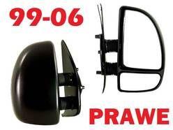 PRAWE lusterko manualne zewnetrzne FIAT DUCATO 1999- 2006