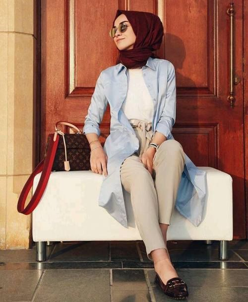 Casual outfits by hijabi fashion bloggers – Just Trendy Girls