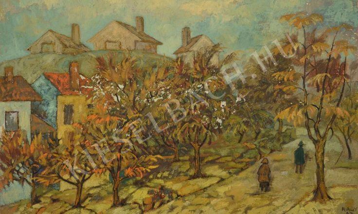 Autumn Landscape - Károly Nagy