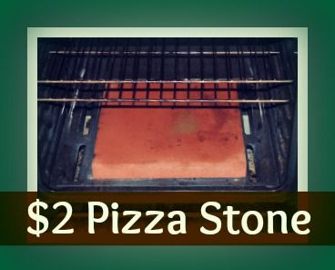 "My family loves pizza! It is a perfect go-to meal. My secret to great pizza is a 12"" brick tile I got at Lowes. It probably seems a little bit strange, but it's makes a great $2 pizza stone."