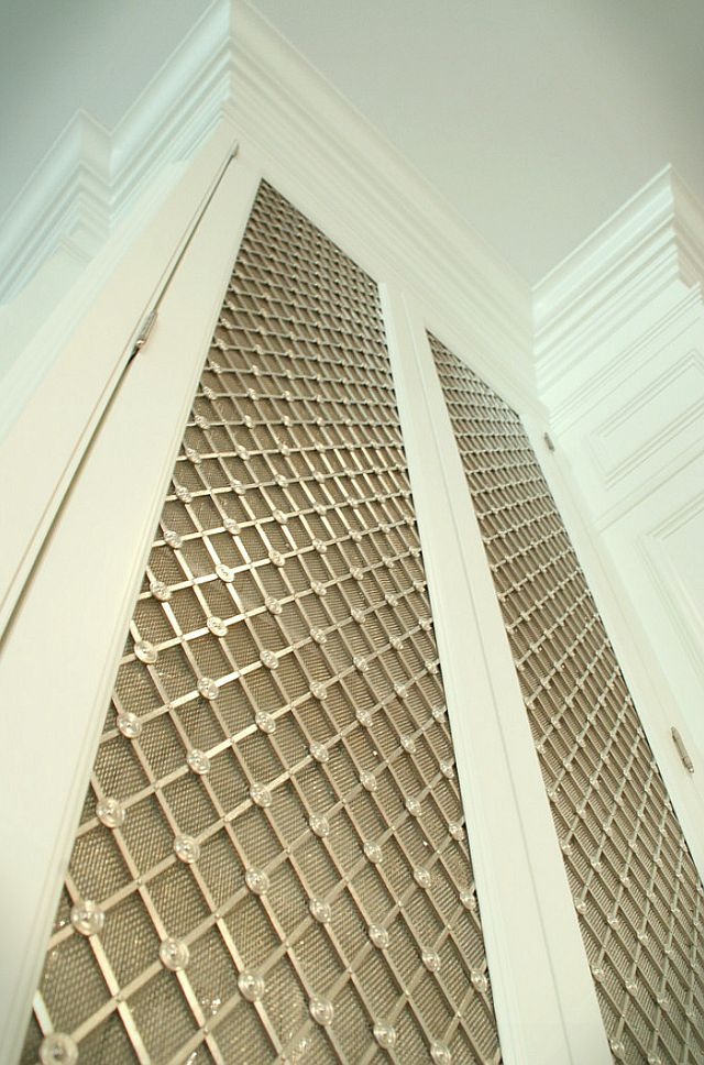 41 best mesh cabinet doors images on pinterest cabinet doors radiator cover and shaker Kitchen cabinets 75 off