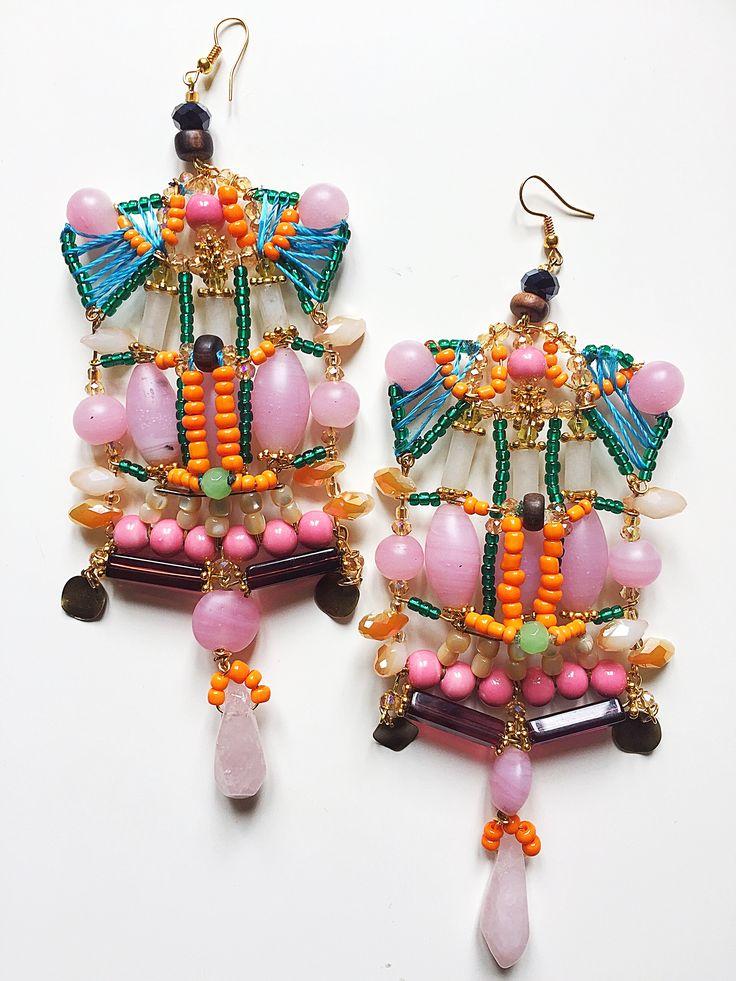 Rahma Earrings by Anita Quansah London