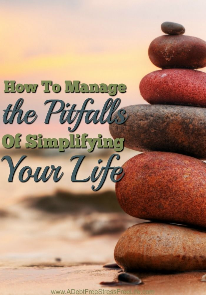 We are all plagued with jammed-packed schedules, demands, projects, goals, ideas, would have and should have's. It's a no wonder we are the unhappiest people on the planet. When you've got so much on your plate demanding your time and attention, there's little left for oneself. So how do you simplify your life?