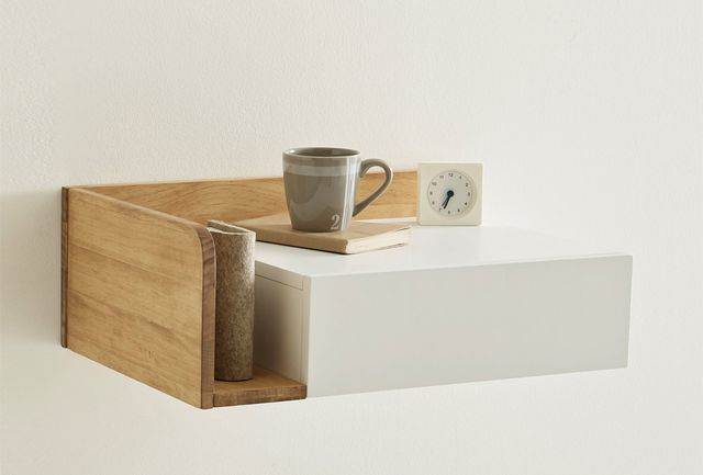 10 Easy Pieces: Wall-Mounted Bedside Shelves with Drawers | Remodelista | Bloglovin'