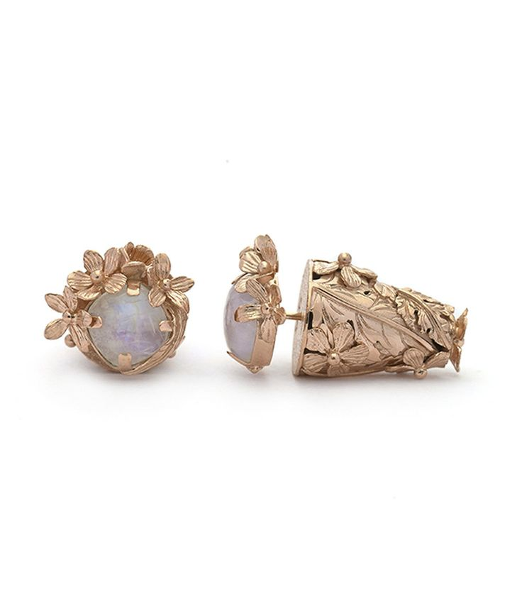 Forgotten Garden Moonstone Subeng Rose Gold