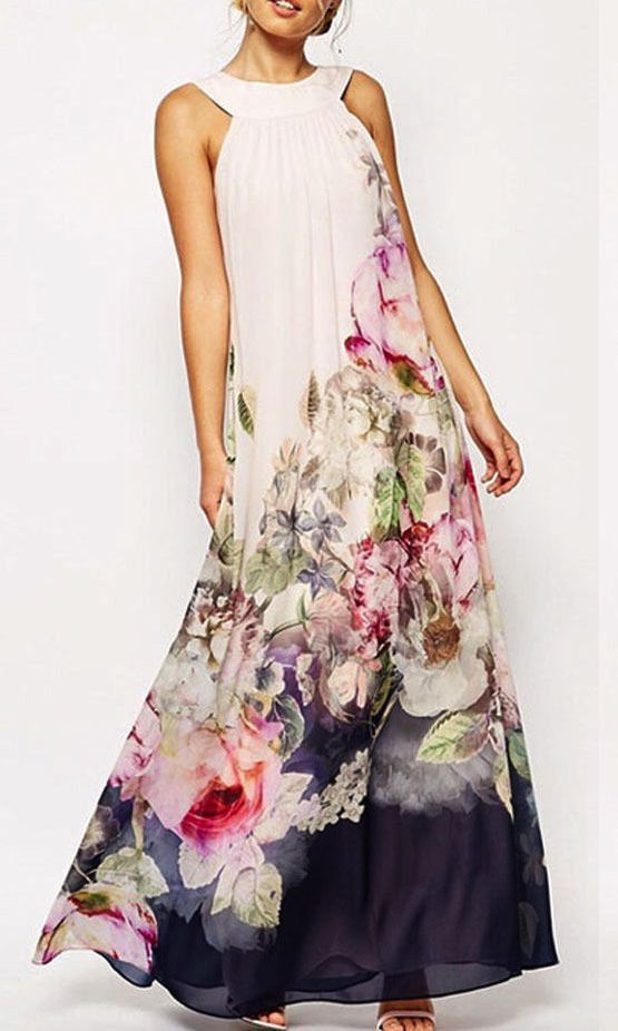 FLORAL AERY MAXI DRESS | Dresses | Women Clothes | KOOGAL