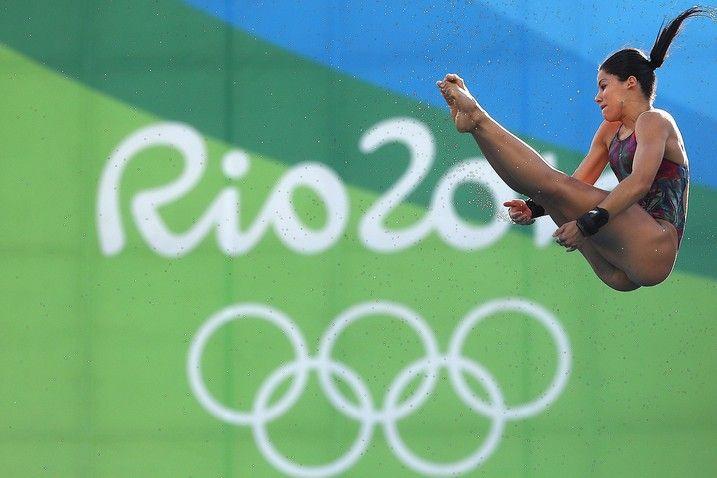 Plataforma de 10m feminina, fase preliminar de saltos ornamentais da Rio 2016