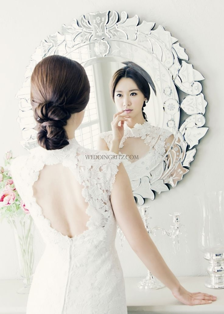 korea wedding hair and make-up
