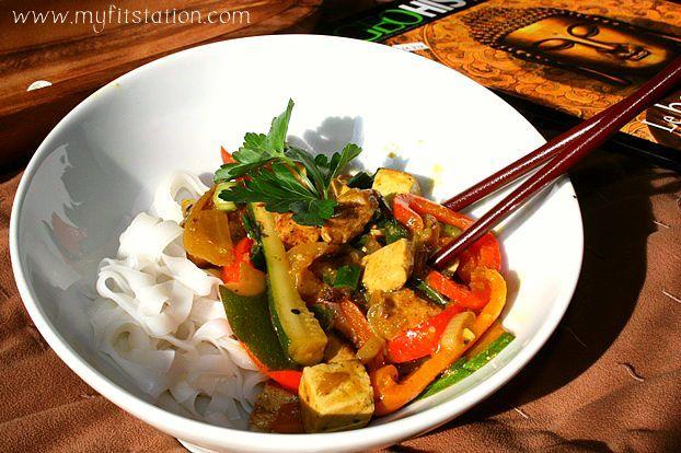 chicken tofu stir fry curry recipe | Stir fry | Pinterest