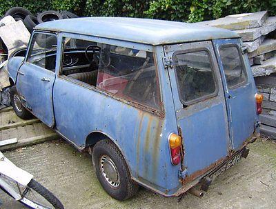 eBay: 1969 Morris Mini Estate mk1 'Woody' with original wood for serious restoration #classicmini #mini