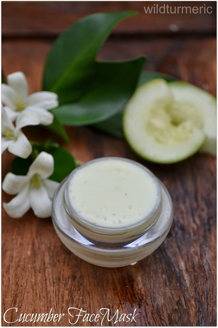 DIY Homemade Cucumber Face Mask Recipe: That can be used on acne prone skin. Regular use fades acne scars too...