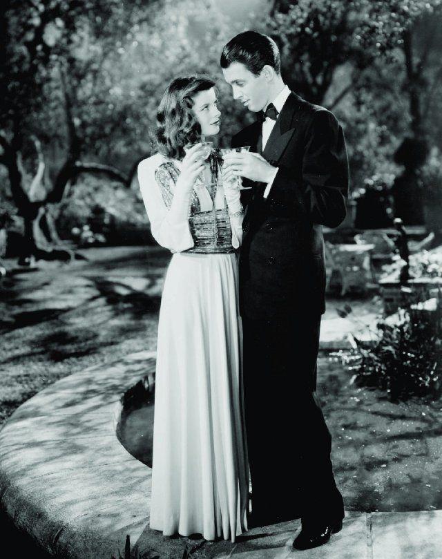 Hepburn and Stewart, The Philadelphia Story (1940)