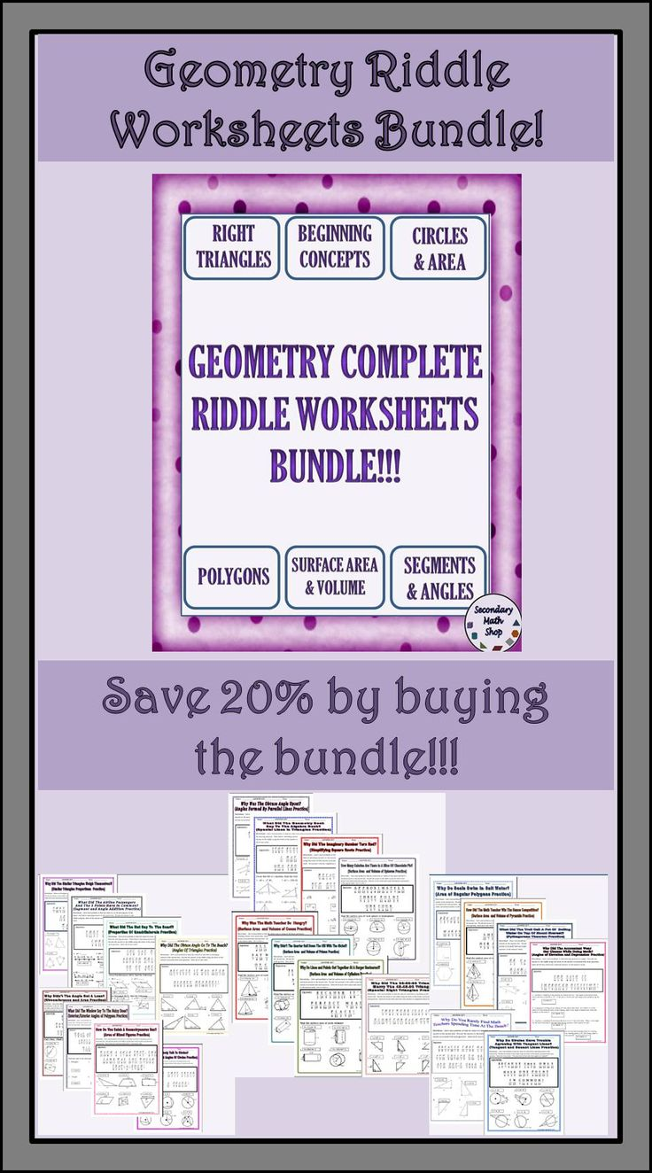 327 best MATH: GEOMETRY images on Pinterest | Teaching ideas ...