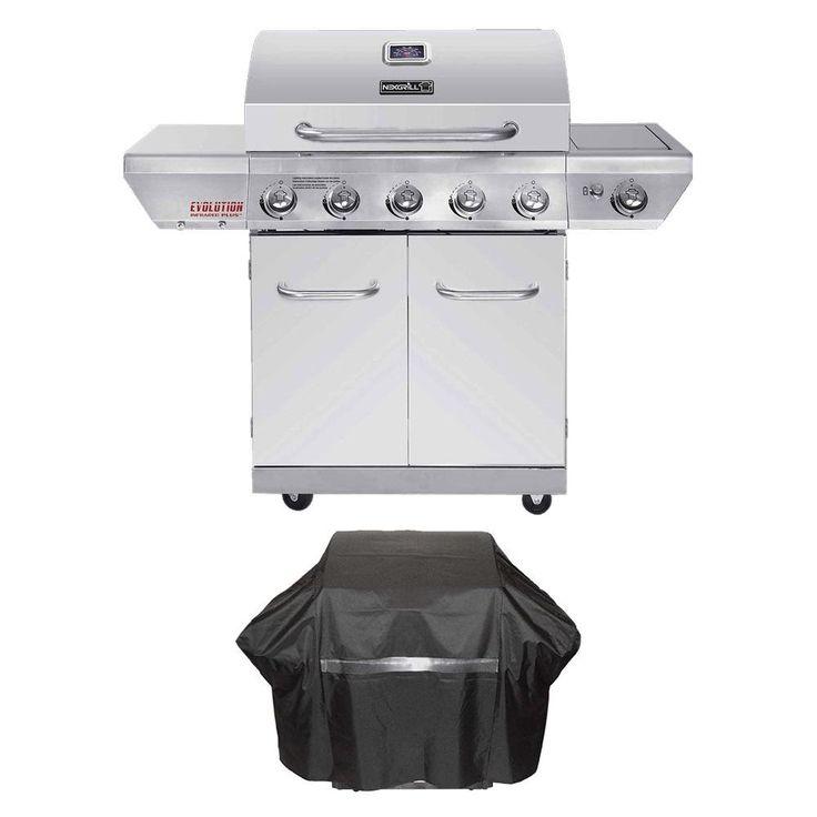 Amazon.com: Nexgrill Evolution 5-Burner Propane Gas Grill ...