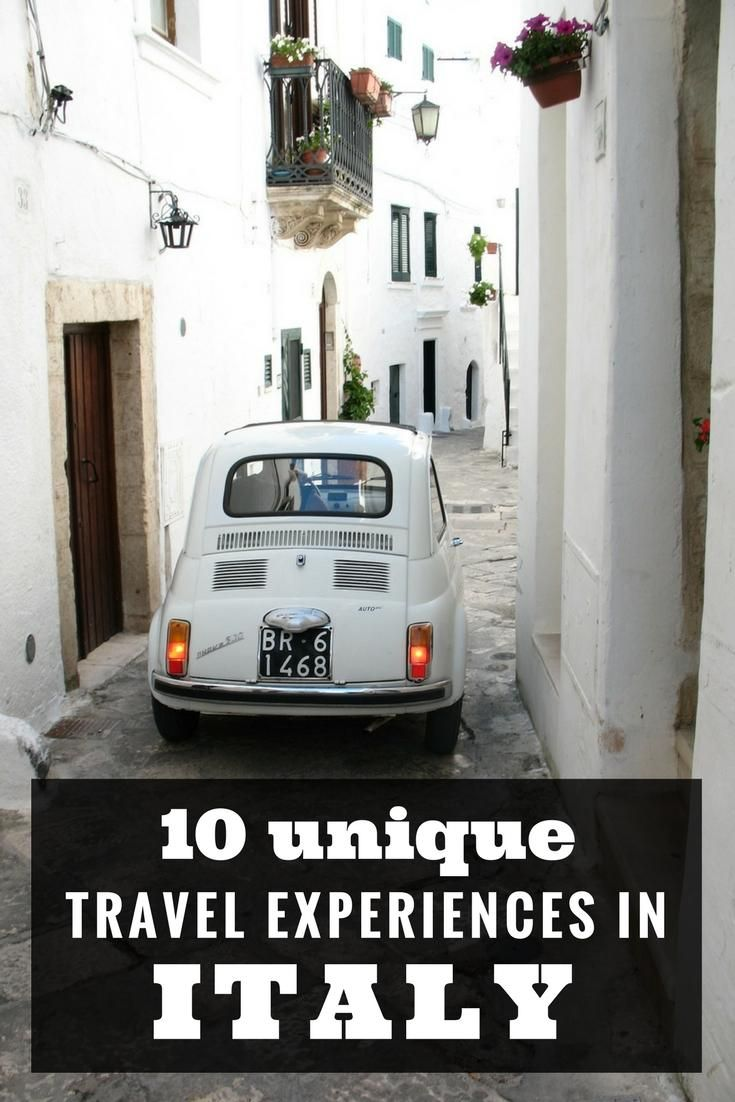 Italy travel - 10 unique and unforgettable experiences and things to to in Italy via @untoldmorsels
