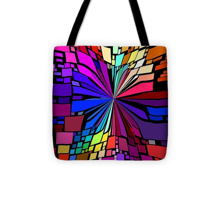Event Horizon Tote Bag #totebag #bag #abstract #colorful #design #art #Lifestyle