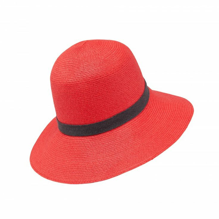 BIMBA Y LOLA Gorro #redhat perfect for summer