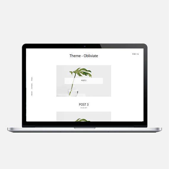 Plantilla de Blogger olvidarnos - responsiva Wordpress Theme - sensible - pegajoso desplazamiento lateral deslizante de entradas populares, minimalista