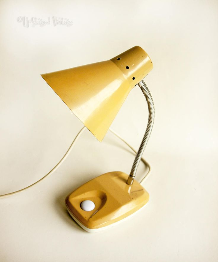 retro lighting. vintage retro 1970s gooseneck desk lamp caramel colour working order by upstagedvintage on etsy lighting n