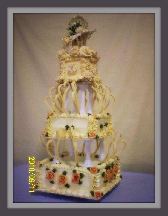 Original wedding cake replica