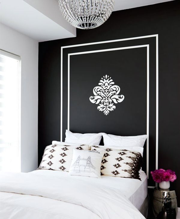 1000 ideas about painted headboards on pinterest for Painted headboard