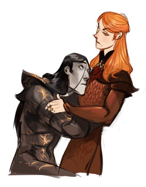 Sauron & Melkor...I love their expressions.:):):) ♥ The longest marriage in Arda's history.