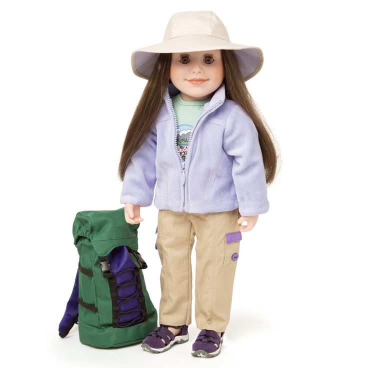 Maplelea High Country Hiking 18 Inch Doll Outfit