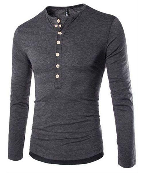 Men Slim Fit Stylish T-Shirts, Black, Grey, Navy Blue