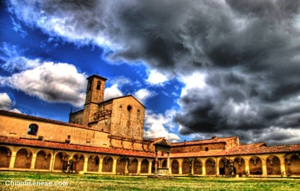 Certosa di San Pietro a Pontignano - Castelnuovo Berardenga