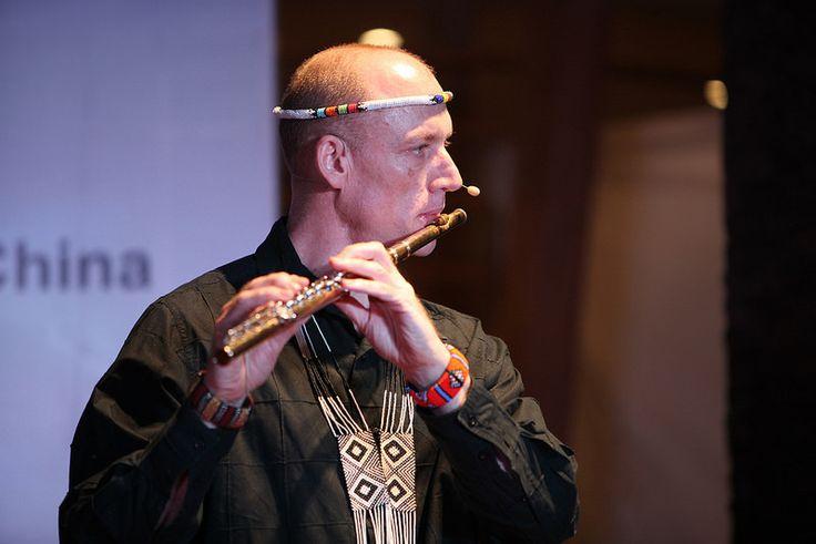 Wouter Kellerman (SAF) - World Folklines. Performing at the Woodford Folk Festival 2014/15.  For more info visit: http://www.woodfordfolkfestival.com