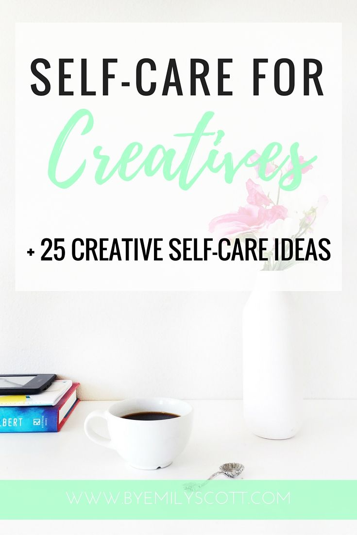 Self-Care for Creatives: If you're not taking care of yourself, you are not going to have the energy to take care of anyone else. A lack of…