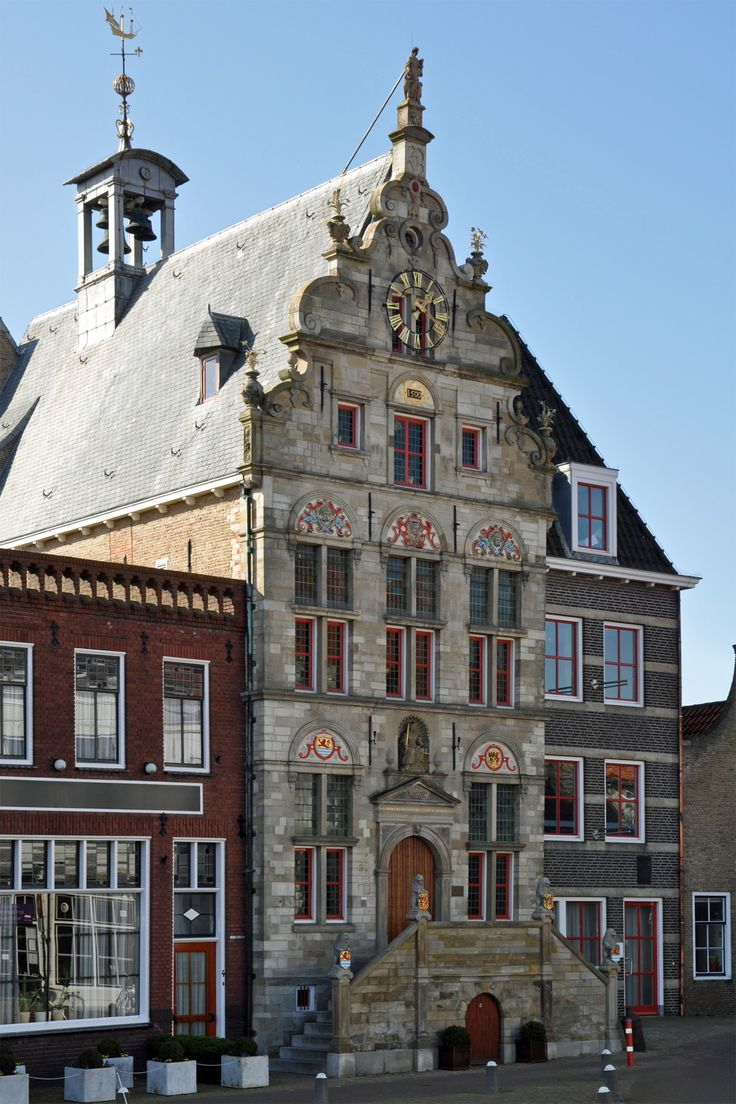 Brouwershaven (Zeeland) - Old town hall / Altes Rathaus / Ancien hôtel de ville