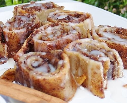 Gluten Free Cinnamon Rolls from Pilsbury pizza dough! Sounds and looks yum and not hard using her tips.