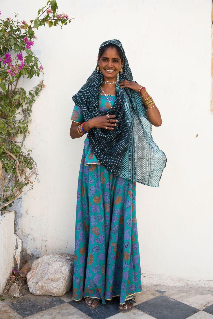 Sandra, gitana de las afueras de Pushkar - Rajastán, un viaje en el tiempo