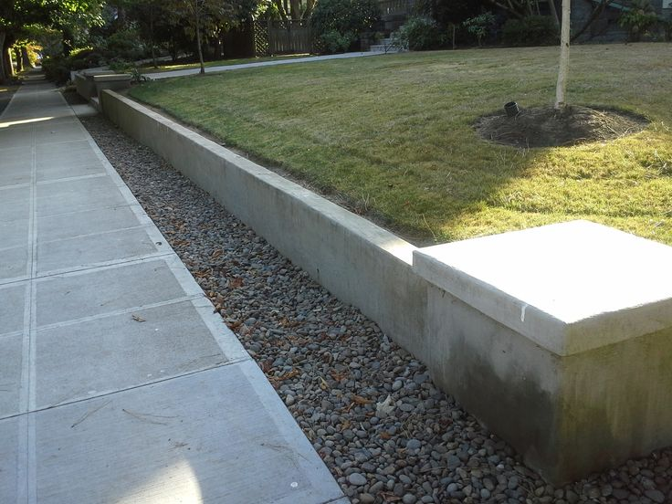 The 25 Best Ideas About Concrete Retaining Walls On