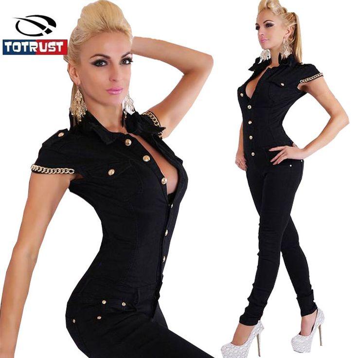 Black Bodycon Jumpsuit 2016 Fashion Jumpsuit Women Overalls Elegant Long Pants sale Rompers Women Summer Sexy Combinaison Femme