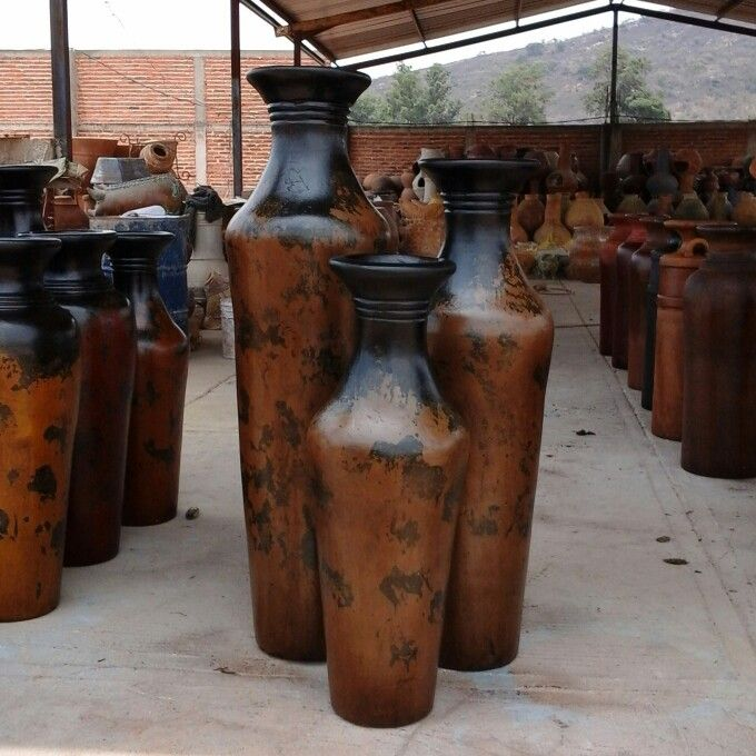 1000 images about tierra del barro on pinterest pottery for Jarrones grandes