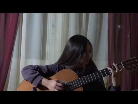 Романс ( Дорожка лунная ) на гитаре