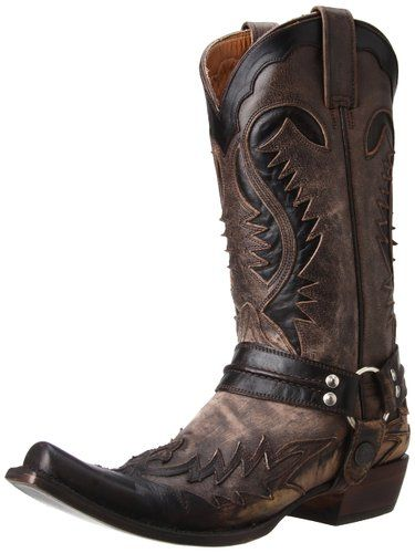 Stetson Women's Outlaw Boot,Brown,7.5 M US