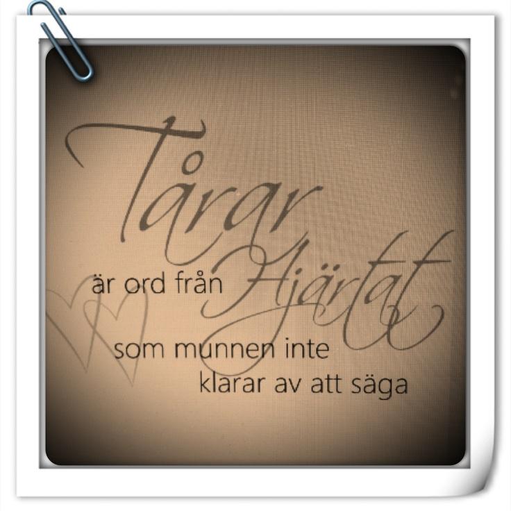 Vackra ord i sorgen