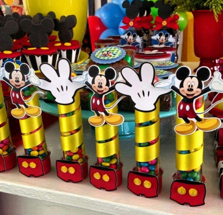 Decoração festa do Mickey Mouse