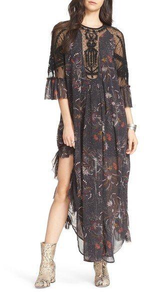 Free People Spirit of the Wild Maxi Dress