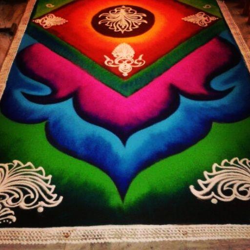 Special Rangoli Art ....  #rka  #rashtrikalaakadami  #rangoliartpune…